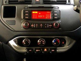 2013 Kia Rio UB MY13 SLi Black 6 Speed Sports Automatic Hatchback