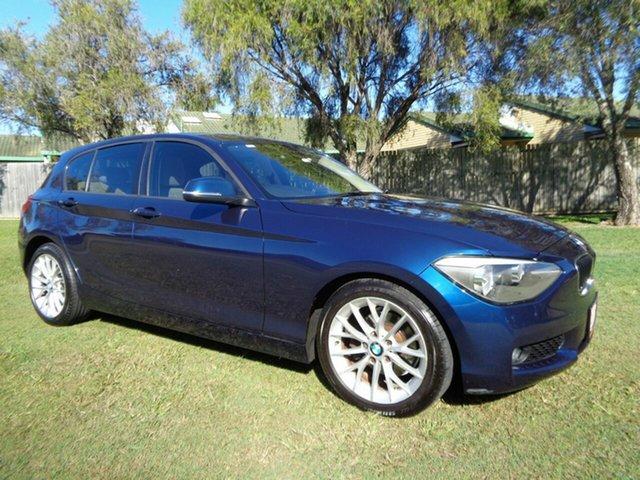 Used BMW 118i F20 118i Kippa-Ring, 2012 BMW 118i F20 118i Blue 8 Speed Sports Automatic Hatchback