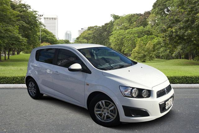Used Holden Barina TM Paradise, 2012 Holden Barina TM White 6 Speed Automatic Hatchback
