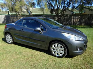 2009 Peugeot 207 A7 CC Grey 4 Speed Sports Automatic Cabriolet.