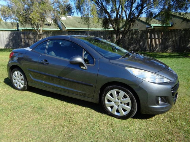 Used Peugeot 207 A7 CC Kippa-Ring, 2009 Peugeot 207 A7 CC Grey 4 Speed Sports Automatic Cabriolet