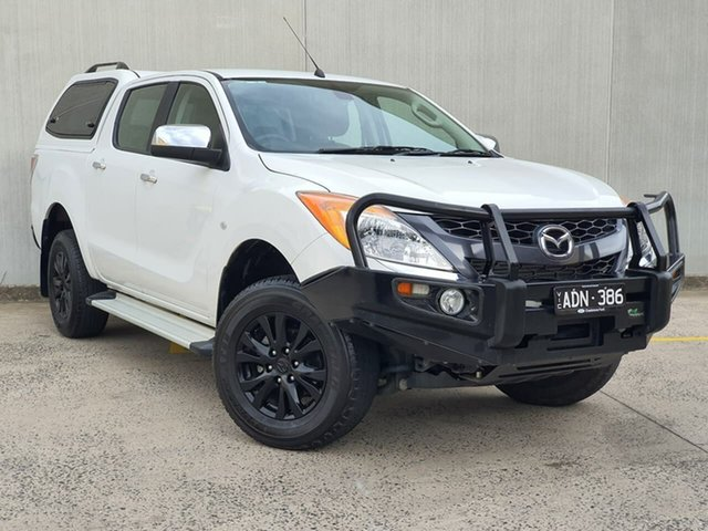 Used Mazda BT-50 UP0YF1 GT Oakleigh, 2014 Mazda BT-50 UP0YF1 GT White 6 Speed Sports Automatic Utility