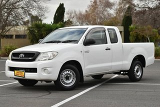 2010 Toyota Hilux GGN15R MY10 SR Xtra Cab 4x2 White 5 Speed Automatic Utility