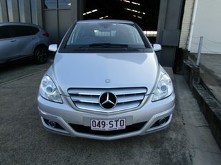 2011 Mercedes-Benz B-Class W245 MY11 B180 Silver 1 Speed Constant Variable Hatchback