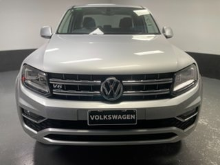 2018 Volkswagen Amarok 2H MY18 TDI550 4MOTION Perm Highline Silver 8 Speed Automatic Utility.