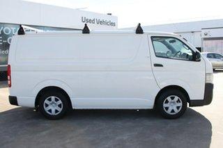 2009 Toyota HiAce TRH201R MY10 LWB French Vanilla 4 Speed Automatic Van