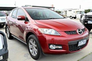 2007 Mazda CX-7 ER1031 MY07 Luxury Red 6 Speed Sports Automatic Wagon.