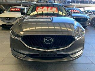 2021 Mazda CX-5 KF4WLA GT SKYACTIV-Drive i-ACTIV AWD SP Machine Grey 6 Speed Sports Automatic Wagon