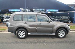 2009 Mitsubishi Pajero NT GLS LWB (4x4) Brown 5 Speed Auto Sports Mode Wagon.