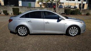 2011 Holden Cruze JH MY12 CDX Silver 5 Speed Manual Sedan.