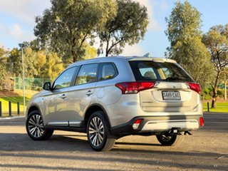 2019 Mitsubishi Outlander ZL MY19 LS 7 Seat (2WD) Sterling Silver Continuous Variable Wagon
