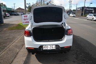 2017 Holden Commodore VF II MY17 SV6 White 6 Speed Automatic Sedan