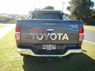 2013 Toyota Hilux KUN26R MY12 SR5 (4x4) Grey 5 Speed Manual Dual Cab Pick-up