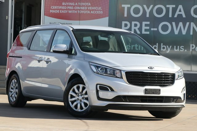 Pre-Owned Kia Carnival YP PE MY19 S Guildford, 2019 Kia Carnival YP PE MY19 S Silver 8 Speed Automatic Wagon