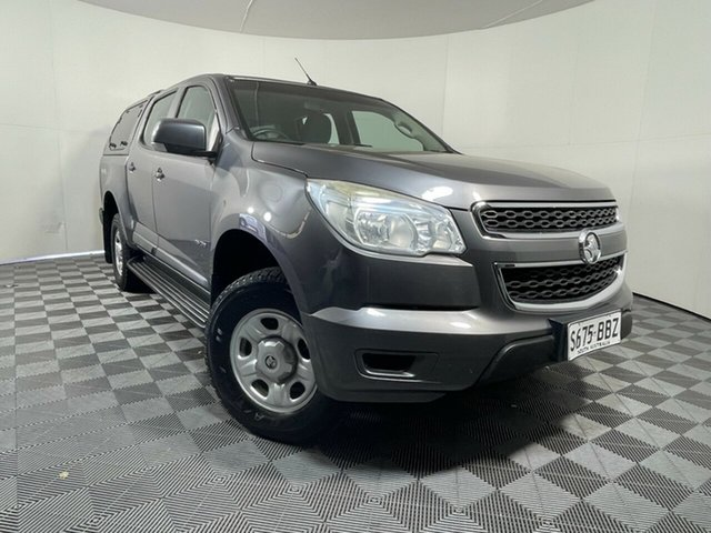 Used Holden Colorado RG MY14 LX Crew Cab Wayville, 2013 Holden Colorado RG MY14 LX Crew Cab Grey 6 Speed Sports Automatic Utility