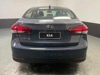 2017 Kia Cerato YD MY17 S Steel Blue 6 Speed Sports Automatic Sedan
