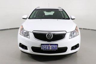 2013 Holden Cruze JH MY13 CD White 6 Speed Automatic Sedan.