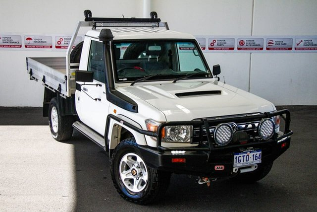 Pre-Owned Toyota Landcruiser VDJ79R MY12 Update GXL (4x4) Myaree, 2016 Toyota Landcruiser VDJ79R MY12 Update GXL (4x4) French Vanilla 5 Speed Manual Cab Chassis