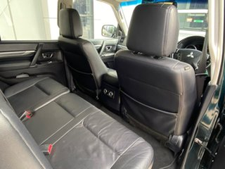 2008 Mitsubishi Pajero NS Exceed Green 5 Speed Sports Automatic Wagon
