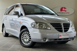 2006 Ssangyong Stavic A100 Sports Plus Silver 5 Speed Sports Automatic Wagon.