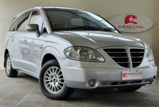 Used Ssangyong Stavic A100 Sports Plus Brendale, 2006 Ssangyong Stavic A100 Sports Plus Silver 5 Speed Sports Automatic Wagon