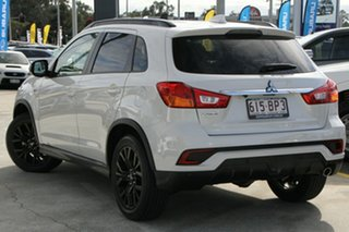 2018 Mitsubishi ASX XC MY19 Black Edition 2WD White 1 Speed Constant Variable Wagon.