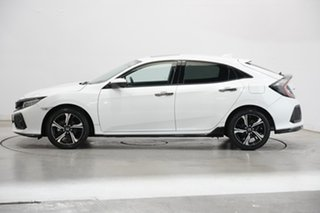 2017 Honda Civic 10th Gen MY17 RS White 1 Speed Constant Variable Hatchback.