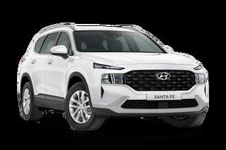 2021 Hyundai Santa Fe TM.V3 Santa Fe White Cream 8 Speed Automatic SUV