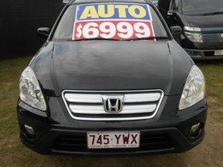 2005 Honda CR-V RD MY2005 Sport 4WD Black 5 Speed Automatic Wagon.