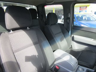 2010 Ford Ranger PK XL Crew Cab White 5 Speed Automatic Cab Chassis