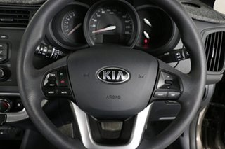 2014 Kia Rio UB MY14 S Brown 4 Speed Automatic Hatchback
