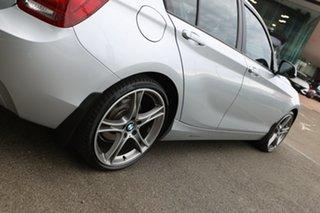 2014 BMW 116i F20 MY14 Glacier Silver 8 Speed Automatic Hatchback
