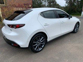 2019 Mazda 3 BP Series G25 Evolve White Sports Automatic Hatchback.