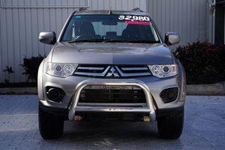 2014 Mitsubishi Challenger PC (KH) MY14 Titanium Grey 5 Speed Sports Automatic Wagon.