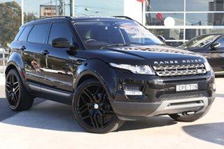 2015 Land Rover Range Rover Evoque L538 MY15 Coupe Pure Black 9 Speed Sports Automatic Wagon.