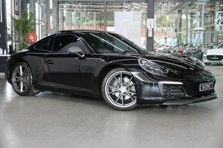 2018 Porsche 911 991 MY18 Carrera T PDK Black 7 Speed Sports Automatic Dual Clutch Coupe.