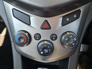 2012 Holden Barina TM MY13 CD Black 6 Speed Automatic Sedan