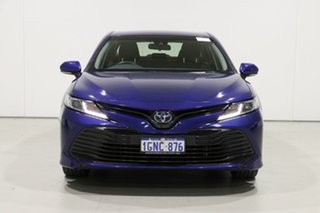 2018 Toyota Camry AXVH71R Ascent (Hybrid) Blue Continuous Variable Sedan.