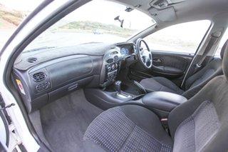2001 Ford Falcon AU II XR6 White 4 Speed Automatic Sedan
