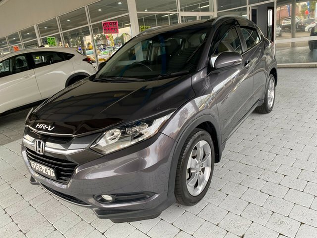 Used Honda HR-V VTi-S Taree, 2017 Honda HR-V VTi-S Modern Steel Constant Variable Hatchback
