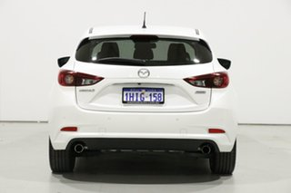 2018 Mazda 3 BN MY18 SP25 Pearl White 6 Speed Automatic Hatchback