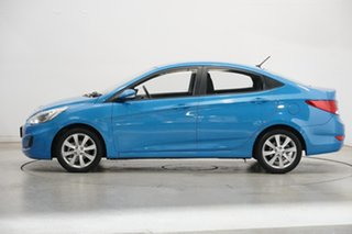2018 Hyundai Accent RB6 MY18 Sport Blue Lagoon 6 Speed Sports Automatic Sedan.