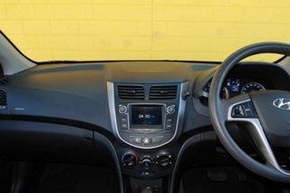 2016 Hyundai Accent Silver 6 Speed Automatic Sedan