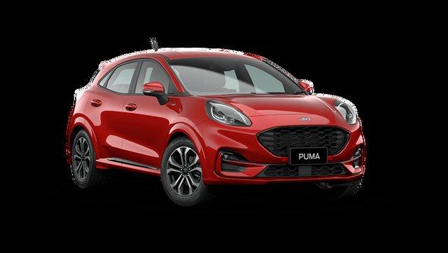 Demo Ford Puma JK ST-Line Hamilton, 2021 Ford Puma JK ST-Line Fantastic Red 7 Speed Automatic