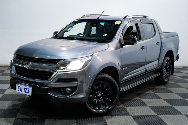 Used Holden Colorado RG MY17 Z71 Pickup Crew Cab Edgewater, 2017 Holden Colorado RG MY17 Z71 Pickup Crew Cab Grey 6 Speed Sports Automatic Utility