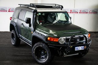 2014 Toyota FJ Cruiser GSJ15R MY14 Jungle 5 Speed Automatic Wagon.