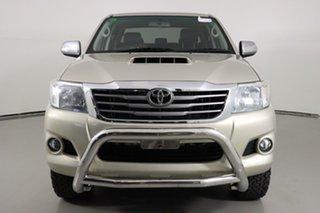 2014 Toyota Hilux KUN26R MY14 SR5 (4x4) Gold 5 Speed Manual Dual Cab Pick-up.