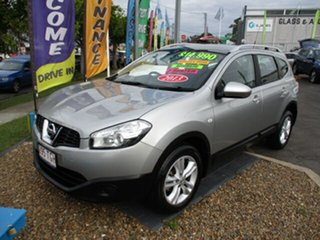 2013 Nissan Dualis ST+2 Silver 4 Speed Automatic Hatchback.