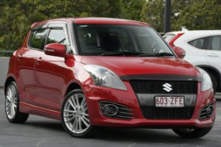 2014 Suzuki Swift FZ MY14 Sport Red 6 Speed Manual Hatchback.
