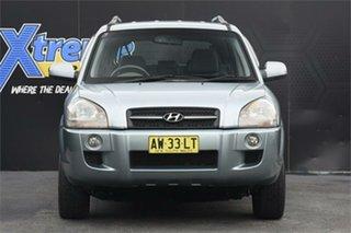 2008 Hyundai Tucson JM MY07 City SX Blue 4 Speed Sports Automatic Wagon.